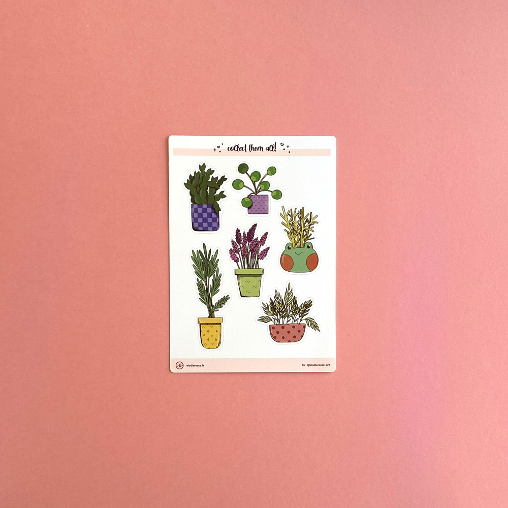 Elodie-Roosz - Products - Plantes-stickersheet-1 230