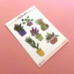 Elodie-Roosz - Products - Plantes-stickersheet-2 232