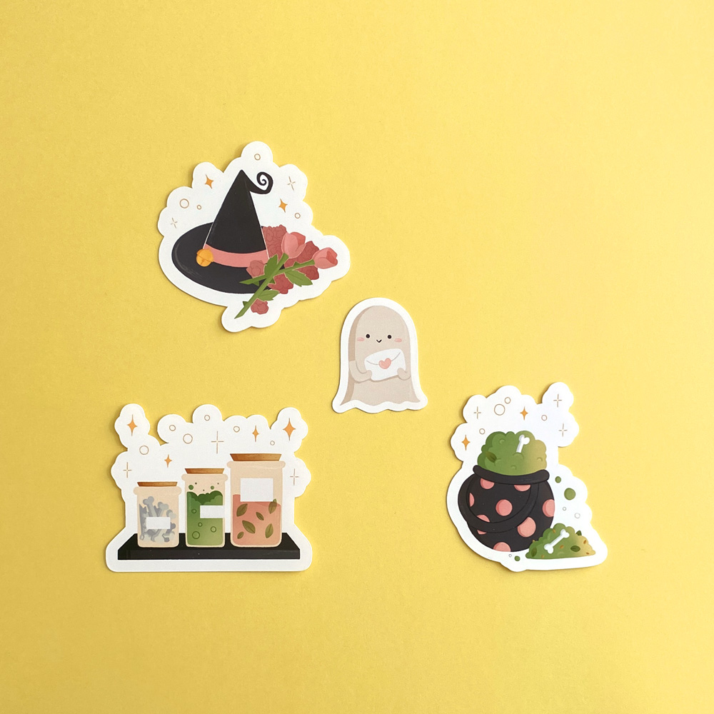 Elodie-Roosz - Products - Stickers-halloween-3 238