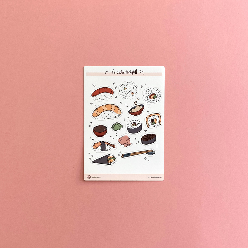 Elodie-Roosz - Products - Sushis-stickersheet-1 204